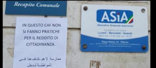 Il Caf di Palermo sul reddito di cittadinanza