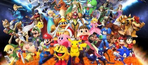 Personajes del nuevo Smash Bros para Nintendo Switch