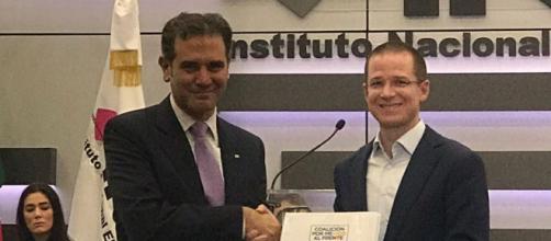 Ricardo Anaya se registra ante el INE