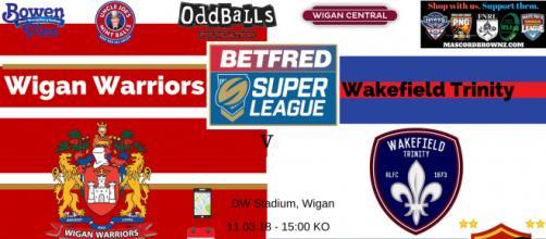Wigan Warriors v Wakefield Trinity Super League