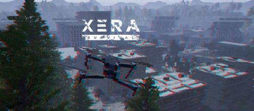 'XERA: Survival' drone [Credit: Facebook/PlayXERA]
