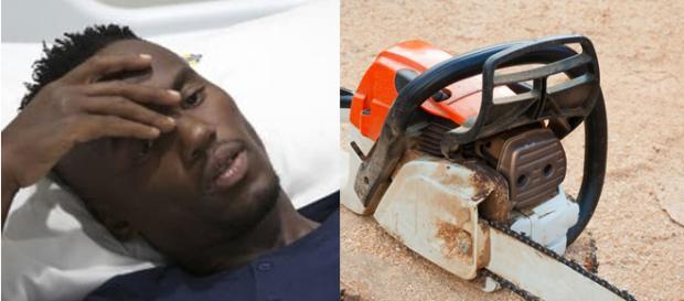 Atleta africano Mhlengi Gwala quase teve as penas arrancadas por assaltantes
