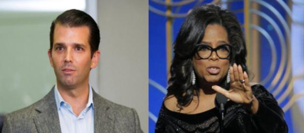 Donald Trump Jr, Oprah Winfrey, via Twitter