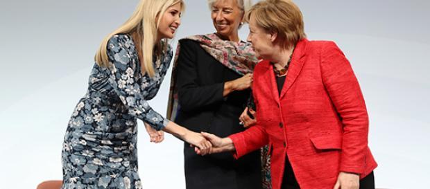 Ivanka Trump, embajadora de clase y estilo en Alemania con las ... - hola.com