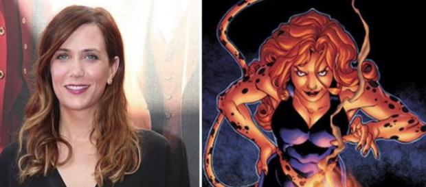Kristen Wiig is set to play famous Wonder Woman nemesis, Cheetah in Wonder Woman 2. [Image via Matthewvhaynes/Youtube.com]