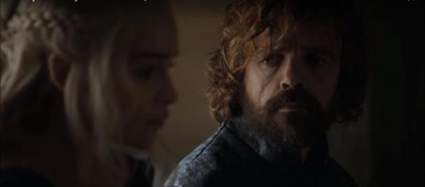 Tyrion and Daenerys in 'Game of Thrones' Season 6. - [Image via Ice & Fire Reviews, YouTube screencap]