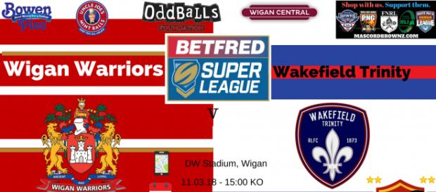 Wigan Warriors v Wakefield Trinity Super League