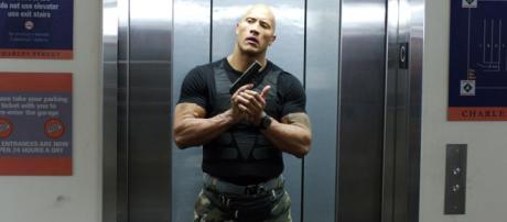"""Dwayne Johnson conocido como """"The Rock"""""""