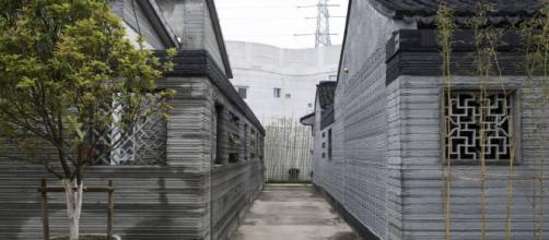 Casas impresas por máquinas de construcción 3D
