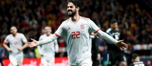 Isco el jugador maravilla de España.