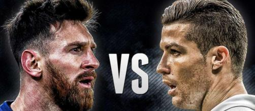 Lionel Messi vs Cristiano Ronaldo.