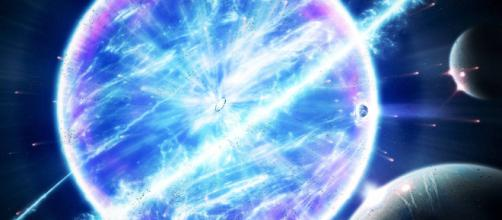 Telescopio capta una supernova