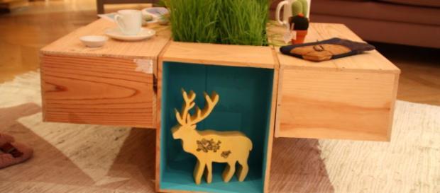 comment faire de la d co avec une caisse de vin vide. Black Bedroom Furniture Sets. Home Design Ideas
