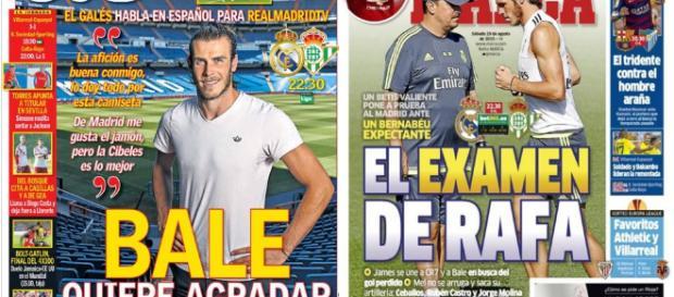Real Madrid : la presse madrilène met Bale en première ligne - butfootballclub.fr