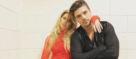 Dean Unglert and Lesley Murphy have split. [Image via Dean Unglert/Instagram]