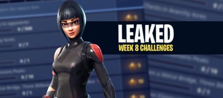 "Week 8 challenges for ""Fortnite Battle Royale"" have been leaked. Image Credit: Own work"