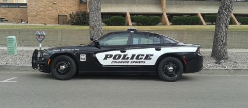 A police cruiser in Colorado Springs (Image via xnatedawgx - WikiMedia Commons)