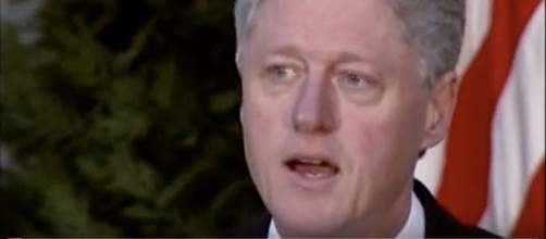 Bill Clinton celebrates the 20th anniversary of the peace deal. [image source: Entertainment/YouTube screenshot]