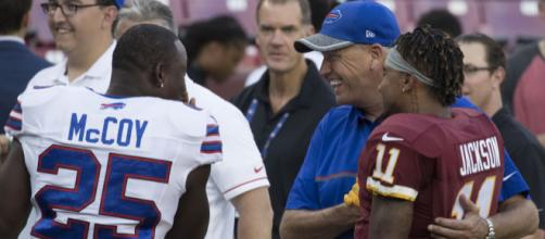 LeSean McCoy, Rex Ryan, DeSean Jackson | Bills at Redskins 8… | Flickr - flickr.com