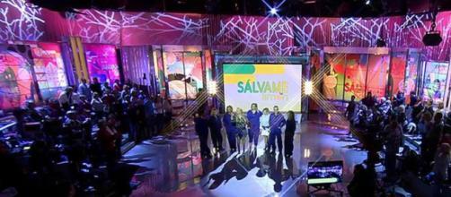 Lío en el plató de Sálvame en Telecinco.