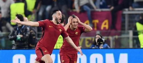 Roma-Barcellona 3-0, è la storia