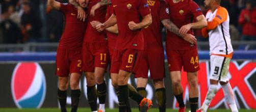 Roma notte magica, battuto il Barca 3 a 0: Di Francesco vola in semifinale
