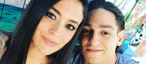 Sammi Sweetheart Giancola poses with boyfriend Christian Biscardi. [Photo via Instagram]