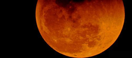 Super Blue Moon Eclipse on January 31, 2018 [Image via Wikimedia Commons]
