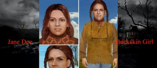 The remains of 'The Buckskin Girl' have been identified after 37 years. [image source: Creepy News - YouTube]