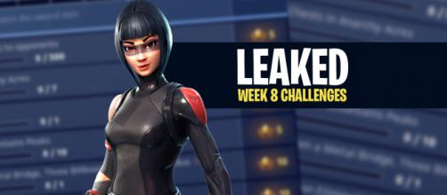 "Week 8 challenges for ""Fortnite Battle Royale"" have been leaked. Image Credit: Own work"