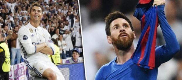 Cristiano Ronaldo e Messi continuam se batendo pelos mesmos objetivos