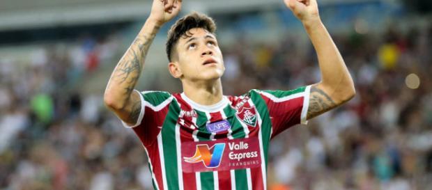 Fluminense, de Pedro, estreia na Sul-Americana na noite de quarta (Foto: Gazeta Esportiva)