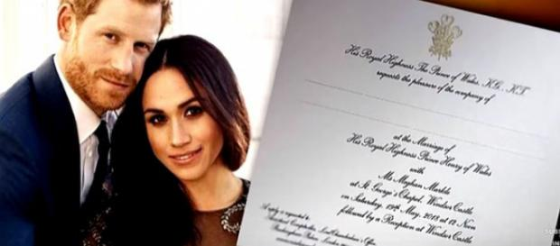 Prince Harry and Meghan Markle inviting only family members and friends to wedding. - [Image: Inside Edition / YouTube screenshot]