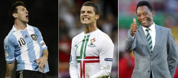 ¿Messi o Cristiano? ¿Quién es mejor para la leyenda Pelé?