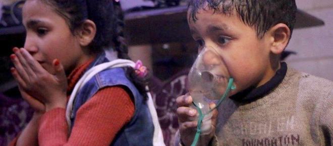Giftgasangriff in Duma: Berlin vermutet syrische Armee dahinter