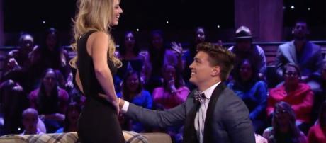 Dean and Lesley [Image via ABC/YouTube screencap]