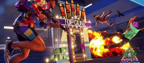 Lawbreakers studio's new game is a free-to-play '80s-infused ... (Image via polygon/Youtube)