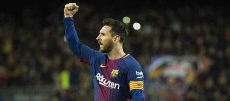 Leo Messi ficou desolado com derrota na Champions