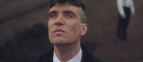 Cillian Murphy plays Thomas Shelby. Photo: screenshot via BBC channel on YouTube