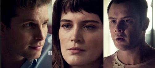 Clara, Gael e Patrick em 'O Outro Lado do Paraíso'