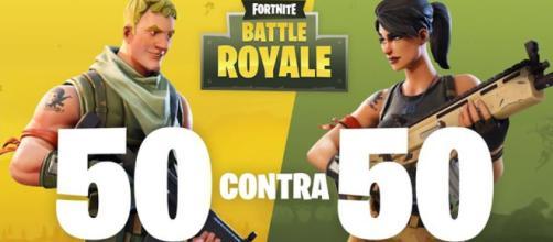 El modo 50v50 de Fortnite vuelve pronto