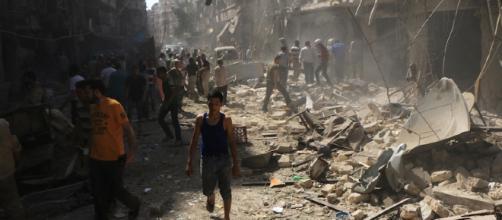 Il bombardamento con armi chimiche su Douma che ha ucciso oltre 100 persone