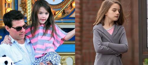 La pequeña Suri Cruise de 11 años está a punto de convertirse en una adolescente (youtube.com)