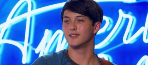 Laine Hardy audtion oir Amercian Idol - image cedit - American Idol - | YouTube