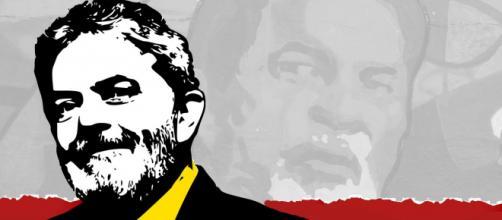 L'immagine di Lula pubblicata da Beppe Grillo sul suo blog