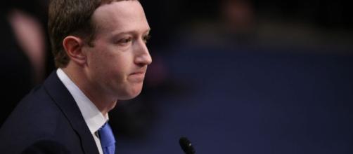 Mark Zuckerberg ante el Senado