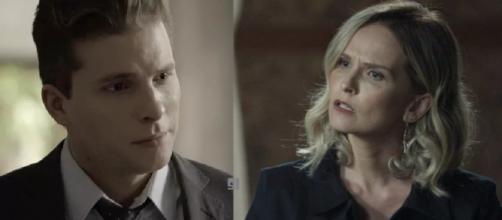 Patrick e Fabiana em 'O Outro Lado do Paráiso'