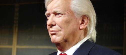 Trump threatens war wax image of Trump. Photo - (Image credit-Ajale/ pixabay.com)