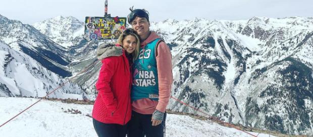 Dean and Lesley last month in Aspen. - [Image: Instagram / Dean Unglert]