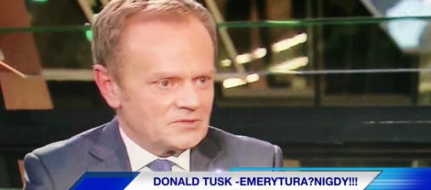 Donald Tusk - niepoprawny optymista. Chce powrócić do polskiej polityki (fot. scrn)